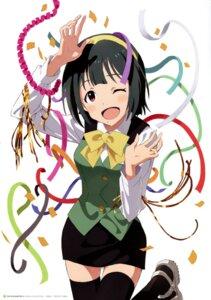 Rating: Safe Score: 23 Tags: otonashi_kotori screening the_idolm@ster thighhighs User: animeprincess