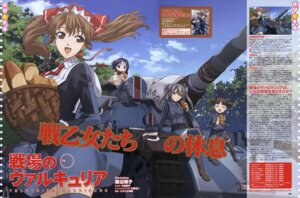 Rating: Safe Score: 17 Tags: alicia_melchiott edy_nelson isara_gunther uniform valkyria_chronicles watanabe_atsuko User: Radioactive