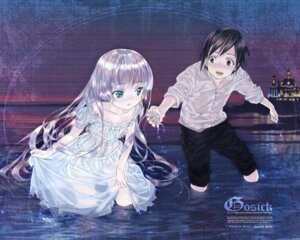 Rating: Safe Score: 26 Tags: dress gosick kujo_kazuya takeda_hinata victorica_de_broix wallpaper wet User: yumichi-sama