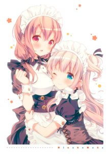 Rating: Safe Score: 79 Tags: hiiragi_mayuki hinako_note maid march-bunny sakuragi_hinako User: kiyoe