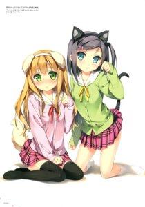 Rating: Safe Score: 88 Tags: animal_ears azuki_azusa hentai_ouji_to_warawanai_neko kantoku nekomimi seifuku tail thighhighs tsutsukakushi_tsukiko User: Twinsenzw