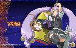 Rating: Safe Score: 19 Tags: hyakka_ryouran_samurai_girls naoe_kanetsugu naoe_kanetsugu_(hyakka_ryouran) thighhighs wallpaper User: beitiao