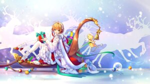 Rating: Safe Score: 31 Tags: card_captor_sakura christmas dress heels kerberos kingchenxi kinomoto_sakura User: Mr_GT