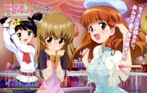 Rating: Safe Score: 24 Tags: dress girls_und_panzer megane oono_aya takebe_saori utsugi_yuuki yoshida_nobuyoshi User: drop