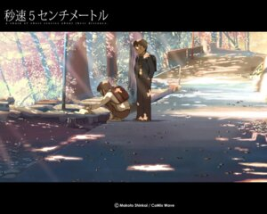 Rating: Safe Score: 22 Tags: 5_centimeters_per_second neko shinkai_makoto wallpaper User: fireattack