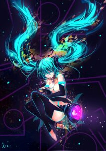 Rating: Questionable Score: 35 Tags: hatsune_miku miku_append thighhighs vocaloid vocaloid_append zhuxiao517 User: fairyren