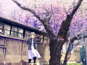 Rating: Safe Score: 27 Tags: dress ford landscape User: bishounen