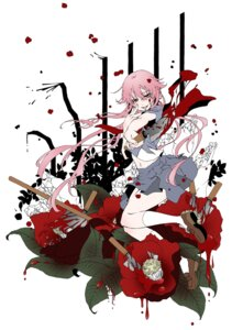 Rating: Safe Score: 19 Tags: blood gasai_yuno hasato_noi jpeg_artifacts mirai_nikki seifuku weapon User: charunetra