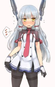 Rating: Safe Score: 25 Tags: kantai_collection murakumo_(kancolle) nonono_(basasi21) pantyhose skirt_lift User: KazukiNanako