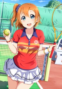 Rating: Safe Score: 19 Tags: kousaka_honoka love_live! shiokazunoko tennis User: saemonnokami