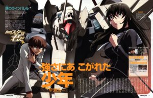 Rating: Safe Score: 2 Tags: hirai_hisashi kizaki_emi kurogane_no_linebarrels mecha User: Radioactive