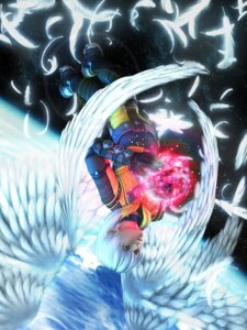 Rating: Safe Score: 3 Tags: cg chaos_(xenosaga) male wings xenosaga xenosaga_ii User: Manabi