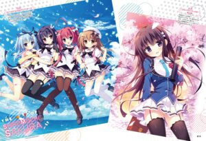 Rating: Safe Score: 41 Tags: digital_version garter heterochromia nagi_kisara nanakuni_kotone natsuiro_kokoro_log ominae_rin seifuku shiromochi_sakura stockings thighhighs tokiwa_kuon User: Twinsenzw