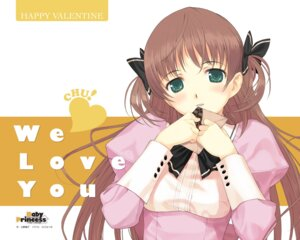 Rating: Safe Score: 38 Tags: amatsuka_haruka baby_princess mibu_natsuki valentine wallpaper User: blooregardo
