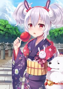 Rating: Safe Score: 41 Tags: animal_ears azur_lane bunny_ears kimono laffey_(azur_lane) nekomicha User: Mr_GT