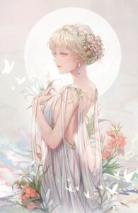 Rating: Questionable Score: 8 Tags: dress lafine no_bra see_through User: Darkthought75