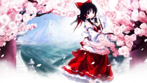 Rating: Safe Score: 31 Tags: hakurei_reimu iseki_(otameshi) touhou wallpaper User: 椎名深夏