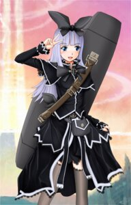 Rating: Safe Score: 9 Tags: coopa cruizer dress lolita_fashion thighhighs tower_of_druaga User: yumichi-sama