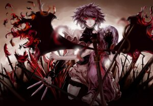 Rating: Safe Score: 21 Tags: blood feitie izayoi_sakuya maid remilia_scarlet touhou wings User: D-king