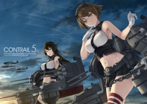 Rating: Safe Score: 37 Tags: kantai_collection mutsu_(kancolle) nagato_(kancolle) rokuwata_tomoe thighhighs User: Mr_GT