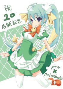 Rating: Safe Score: 11 Tags: melonbooks melon-chan natsuki_yuu_(pixiv1164835) thighhighs User: Nekotsúh
