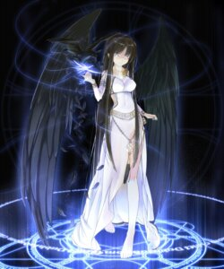 Rating: Safe Score: 83 Tags: beek dress mabinogi morrighan wings User: fairyren