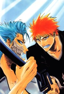 Rating: Safe Score: 3 Tags: bleach grimmjow_jeagerjaques kubo_tite kurosaki_ichigo male screening sword User: charunetra