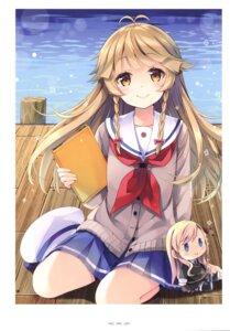 Rating: Safe Score: 18 Tags: chibi high_school_fleet natsume_eri nosa_kouko seifuku sweater User: Radioactive