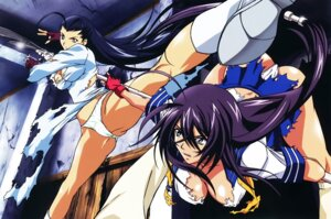 Rating: Questionable Score: 30 Tags: cameltoe chinadress cleavage heels ikkitousen kakouen_myousai kanu_unchou no_bra pantsu seifuku torn_clothes weapon User: Radioactive