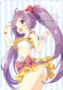 Rating: Questionable Score: 76 Tags: ass bikini luminocity manaka_lala peco pripara swimsuits User: Twinsenzw