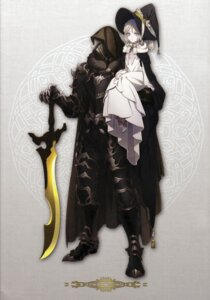 Rating: Safe Score: 21 Tags: amano_hana armor dress heels sword witch User: charunetra