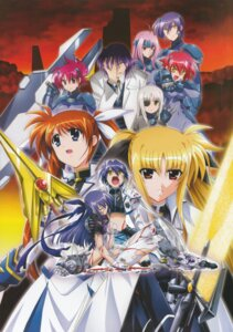 Rating: Questionable Score: 8 Tags: blood fate_testarossa ginga_nakajima jail_scaglietti mahou_shoujo_lyrical_nanoha mahou_shoujo_lyrical_nanoha_strikers nove sette subaru_nakajima takamachi_nanoha torn_clothes tre wendi User: daemonaf2