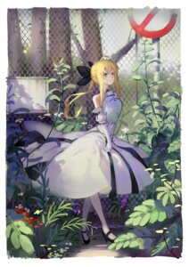 Rating: Safe Score: 35 Tags: armor dress fate/stay_night heels hoshimawa saber saber_lily User: Noodoll