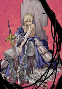 Rating: Safe Score: 3 Tags: bandages blood fate/stay_night saber sanzhuangwangcat sword User: Radioactive