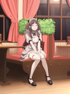 Rating: Safe Score: 40 Tags: aconitea heels maid okamoto_miyu thighhighs wake_up_girls! User: SubaruSumeragi