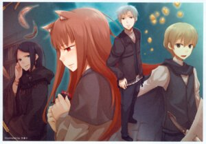 Rating: Safe Score: 19 Tags: animal_ears ayakura_juu craft_lawrence holo screening spice_and_wolf User: hirotn
