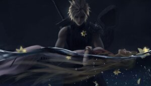 Rating: Safe Score: 13 Tags: aerith_gainsborough cloud_strife final_fantasy final_fantasy_vii sword wet wlop User: andriynight