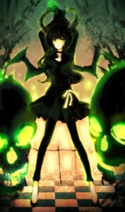 Rating: Safe Score: 17 Tags: black_rock_shooter dead_master horns uno_(colorbox) vocaloid User: charunetra