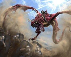 Rating: Safe Score: 30 Tags: armor monster no_bra pantsu sisshou_senkoku thighhighs weapon User: Mr_GT