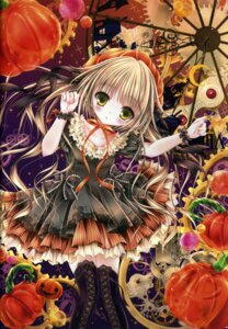 Rating: Safe Score: 19 Tags: dress halloween mubi_alice thighhighs User: kaguya940385