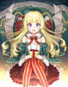 Rating: Safe Score: 38 Tags: battle_girl_high_school bloomers christmas cleavage kiyosato0928 pantyhose sendouin_kaede User: Spidey