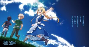 Rating: Safe Score: 32 Tags: abec alice_schuberg dress eugeo kirito sword_art_online User: kiyoe