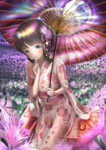 Rating: Safe Score: 10 Tags: breast_hold umbrella wander00317 yukata User: Dreista