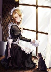 Rating: Safe Score: 17 Tags: girls_frontline kibellin maid neko User: Mr_GT