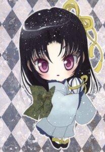 Rating: Safe Score: 11 Tags: chibi hato_no_tamago kimono rami User: petopeto