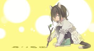 Rating: Safe Score: 24 Tags: animal_ears dress ka-no nekomimi pantyhose tail User: nphuongsun93