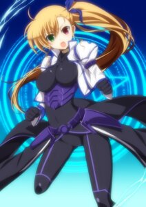 Rating: Questionable Score: 56 Tags: bodysuit heterochromia ka2 mahou_shoujo_lyrical_nanoha mahou_shoujo_lyrical_nanoha_vivid vivio User: fairyren