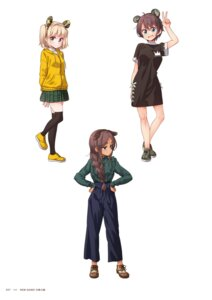 Rating: Questionable Score: 10 Tags: ahagon_umiko dress iijima_yun new_game! seifuku shinoda_hajime tokunou_shoutarou User: kiyoe