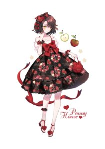 Rating: Safe Score: 26 Tags: cleavage dress heels lolita_fashion yuzhi User: Mr_GT