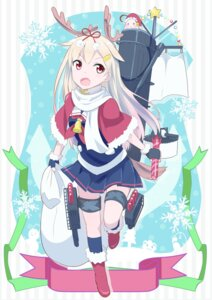 Rating: Safe Score: 46 Tags: ayuya_naka_no_hito christmas gochou_(comedia80) horns kantai_collection seifuku yuudachi_(kancolle) User: nphuongsun93